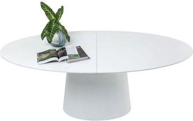 Kare Design Eettafel Benvenuto Rond Verlengbaar 200 tot 250 cm Wit